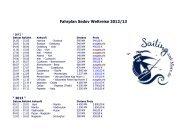 Fahrplan Sedov Weltreise 2012/13 - Sailing and More