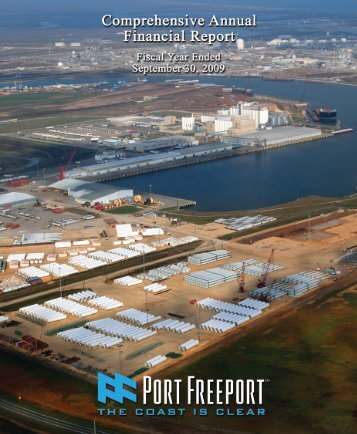 in Financial Reporting - Port Freeport