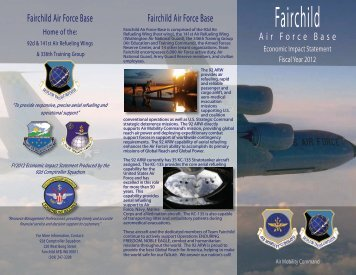 2012 Economic Impact Statement - Fairchild Air Force Base