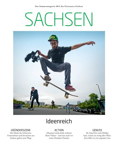 Das Sommermagazin 2015 des Freistaates Sachsen