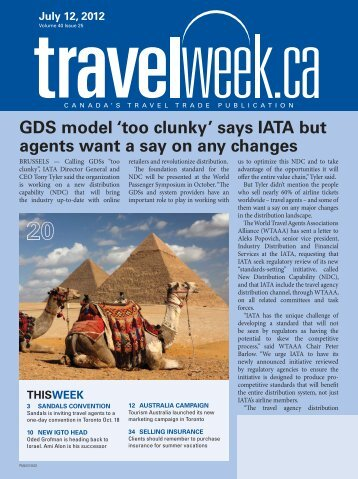 Been there, done that - Travelweek