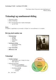 forelesning om