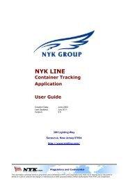 NYK 310 A4 - NYK Line