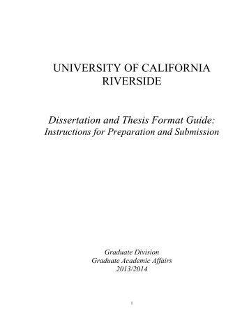 Dissertation graduate