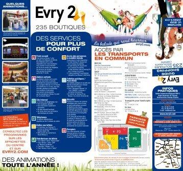 DES AnimAtionS DES SErViCES - Centre Commercial Régional ...