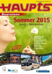 Sommer 2015