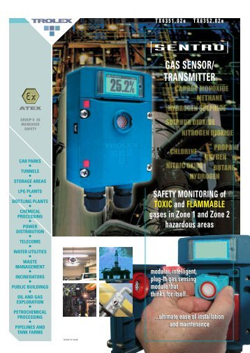 gas sensor/ transmitter - Trolex