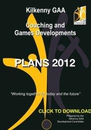 Download coaching manual - Kilkenny GAA