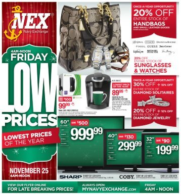 Navy Exchange - Black Friday 2012 Sales