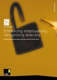 Enhancing employability, recognising diversity - Quality Research ...