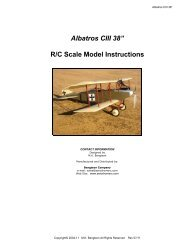 Scale Model Instructions And Refresher - Scale Modelers Handbook