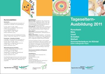 Tageseltern- Ausbildung 2011 - Pflegekinder-Aktion St. Gallen