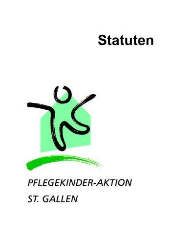 Statuten - Pflegekinder-Aktion St. Gallen