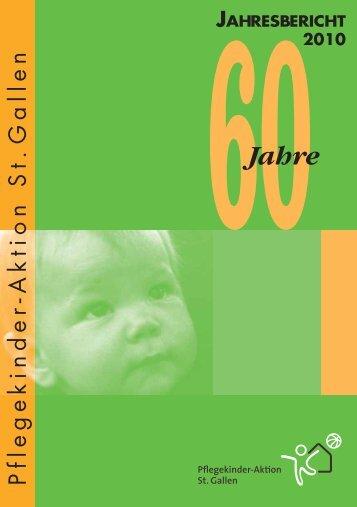 60Jahre - Pflegekinder-Aktion St. Gallen