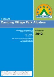 Camping Village Park Albatros Toscana - Camping.it