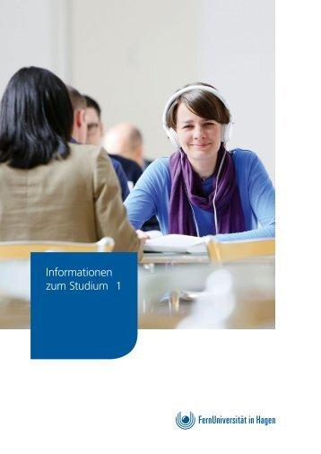 Infobroschüre: Studium an der FernUniversität