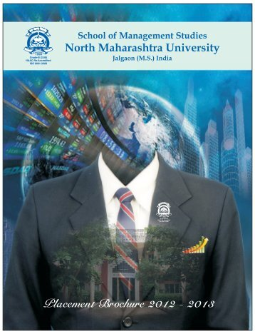 Placement Brochure 2012 - 2013 - North Maharashtra University