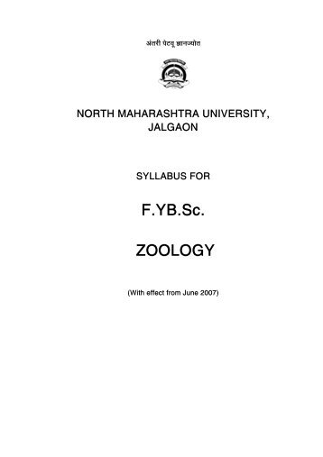 FYB Sc - North Maharashtra University