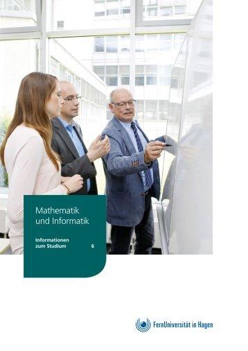 Infobroschüre: Mathematik und Informatik an der FernUniversität