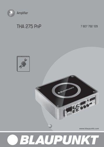 THA 275 PnP - Blaupunkt