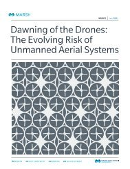 Dawning of the Drones The Evolving Risk of Unmanned Aerial Systems-06-2015