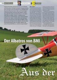 Der Albatros von BMI - hapo - trade Modellbau