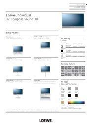 Loewe Individual 32 Compose Sound 3D