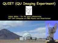 QU Imaging Experiment - IAP