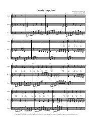 Partitura - Free Choral Music: J. Ashley Hall