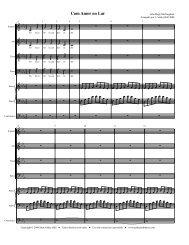 Partitura Completa - Free Choral Music: J. Ashley Hall