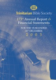 Download Document [pdf] - Trinitarian Bible Society