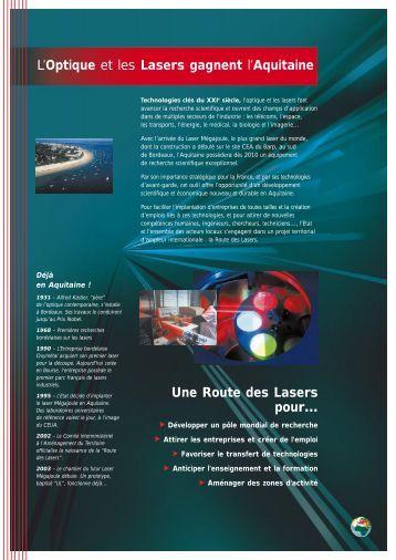 la route des lasers - Alain Lamassoure