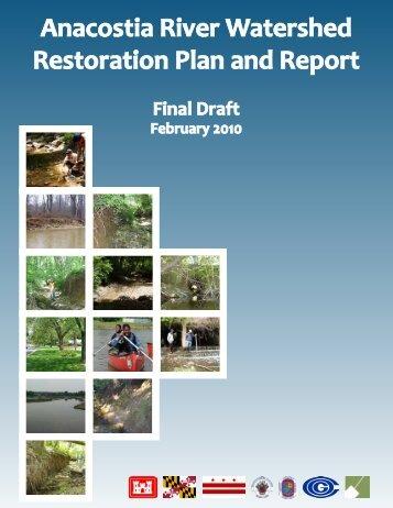 Restoration Plan Report - Anacostia Watershed Network