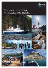 Clipper ADVENTURER with Albatros Travel