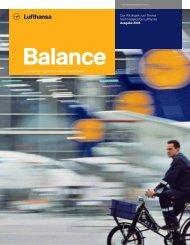 Nachhaltigkeitsbericht Balance 2008 - Econsense
