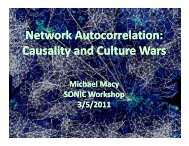 Network Autocorrelation: Causality and Culture Wars - Science of ...