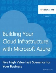 eBook - Building Your Cloud Infrastructure With Microsoft Azure