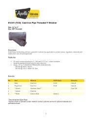 612-01 (TCG) Cast Iron Pipe Threaded Y-Strainer - Grupo JP ...