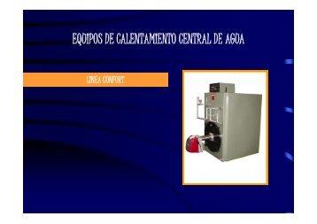 equipos de calentamiento central de agua - Grupo JP Calderas, C.A.