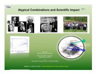 Atypical Combinations and Scientific Impact - Science of Networks in ...