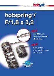 hotspring®/ F/1,8 x 3,2