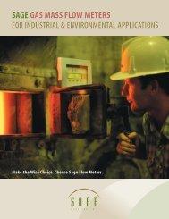 12 Page Brochure - Sage Metering, Inc.