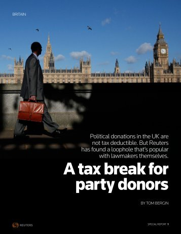 BRITAIN-ELECTION:DONATIONS1