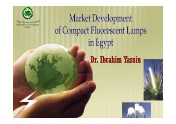 Egypt's Experience in Moving to Efficient Lighting - En-lighten