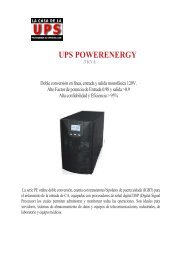 files/UPS POWER ENERGY 3000.pdf - La Casa de la UPS