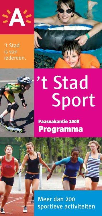 't Stad Sport - Stad Antwerpen