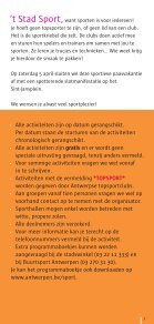 't Stad Sport - Stad Antwerpen - Page 3