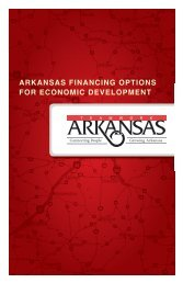 Economic Development Financing - Entergy Arkansas