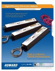 High-Efficiency Guide - Howard Industries, Inc.