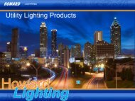 Utility Lighting Products - Howard Industries, Inc.